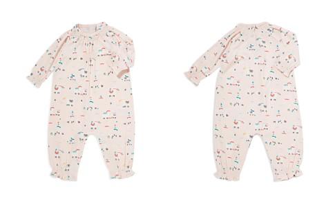Angel Dear Girls' Smocked Detail Llama Print Romper - Baby - Bloomingdale's_2