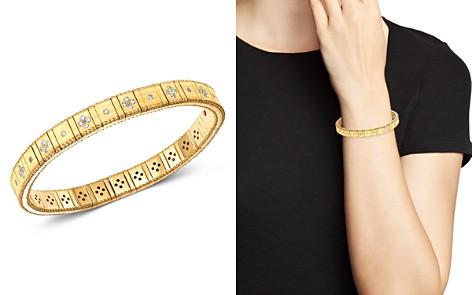 Roberto Coin 18K Yellow Gold Princess Diamond Bracelet - Bloomingdale's_2