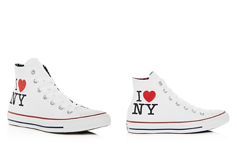 Converse Women's Chuck Taylor All Star I Love NY High Top Sneakers - Bloomingdale's_2