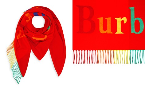 Burberry The Burberry Oversized Triangle Bandana - Bloomingdale's_2