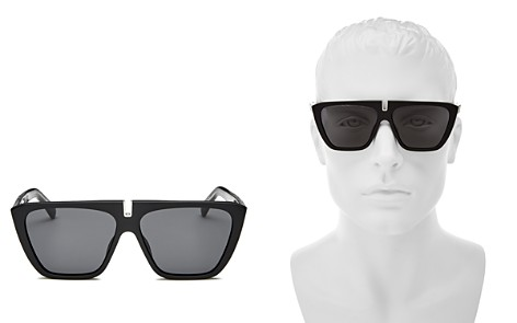 Givenchy Men's Mirrored Flat Top Square Sunglasses, 58mm - Bloomingdale's_2