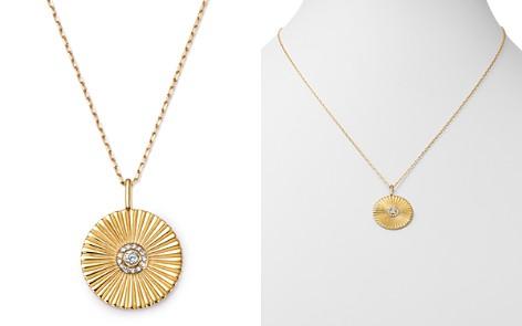 "Adina Reyter 14K Yellow Gold Rays Diamond Large Pendant Necklace, 20"" - Bloomingdale's_2"