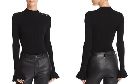 MILLY Embellished Bell-Sleeve Sweater - Bloomingdale's_2