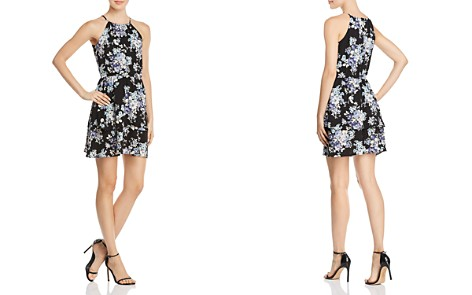 AQUA Floral-Print Fit-and-Flare Dress - 100% Exclusive - Bloomingdale's_2