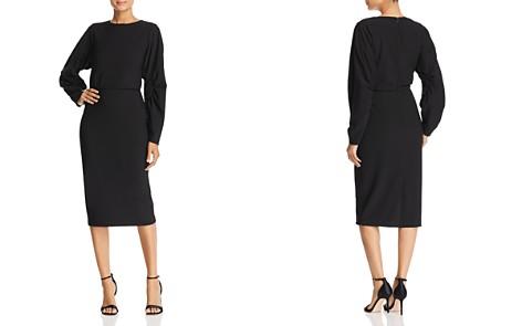 Badgley Mischka Blouson Midi Dress - Bloomingdale's_2