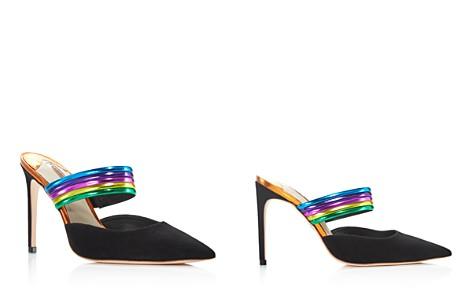 Sophia Webster Women's Joy Pointed Toe Leather & Suede High-Heel Pumps - Bloomingdale's_2