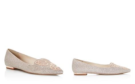 Sophia Webster Women's Bibi Butterfly Pointed Toe Leather Flats - Bloomingdale's_2