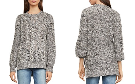 BCBGMAXAZRIA Open-Stitch Cable-Knit Sweater - Bloomingdale's_2