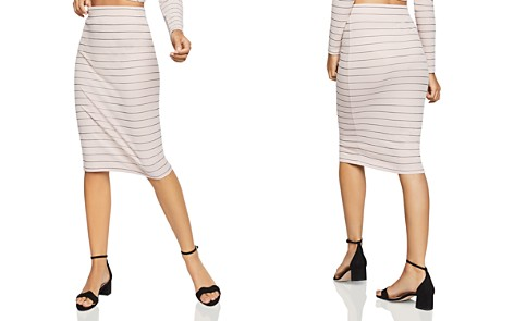 BCBGeneration Striped Pencil Skirt - Bloomingdale's_2
