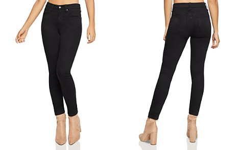 BCBGeneration Ankle Skinny Jeans in Black Rinse - Bloomingdale's_2