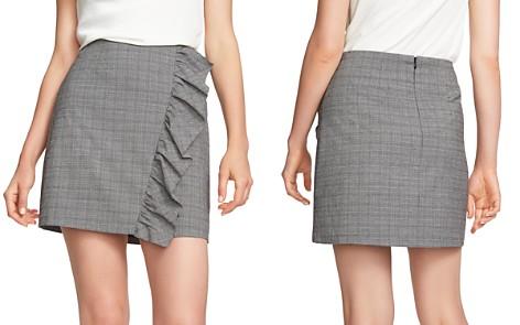 1.STATE Ruffled Glen Plaid Mini Skirt - Bloomingdale's_2