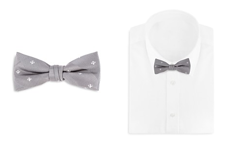 Bloomingdale's Boys Boys' Fleur-de-Lis Bow Tie - 100% Exclusive _2