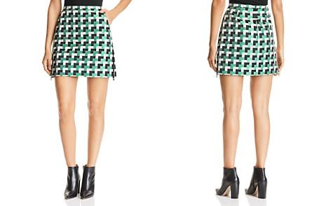 Emporio Armani Multicolor Geo-Print Mini Skirt - Bloomingdale's_2