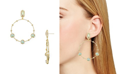 Kendra Scott Sheila Faceted Frontal Hoop Earrings - 100% Exclusive - Bloomingdale's_2