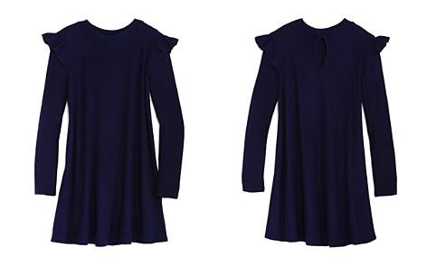 AQUA Girls' Ribbed Swing Sweater Dress, Big Kid - 100% Exclusive - Bloomingdale's_2