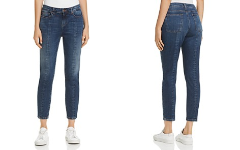 Eileen Fisher Seamed Crop Jeans in Aged Indigo - 100% Exclusive - Bloomingdale's_2