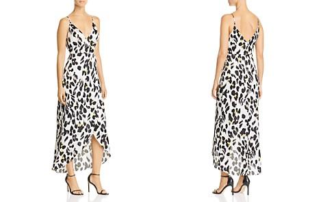 AQUA Leopard-Print Faux-Wrap Dress - 100% Exclusive - Bloomingdale's_2