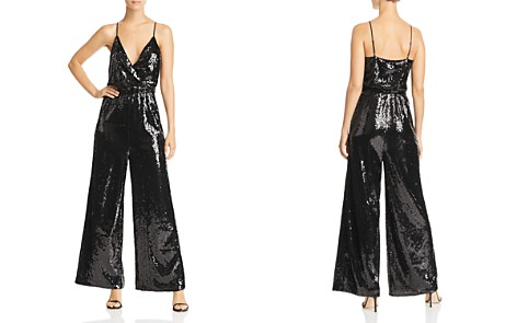 AQUA Sequined Wide-Leg Jumpsuit - 100% Exclusive - Bloomingdale's_2