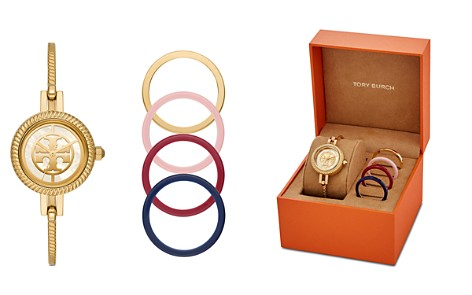 Tory Burch The Reva Bangle Bracelet Watch Gift Set, 27mm - Bloomingdale's_2
