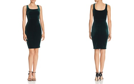 AQUA Velvet Body-Con Dress - 100% Exclusive - Bloomingdale's_2