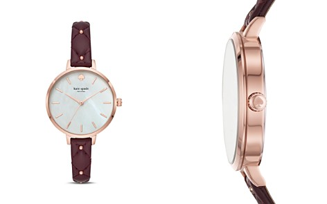kate spade new york Metro Mother-of-Pearl Watch, 34mm - Bloomingdale's_2