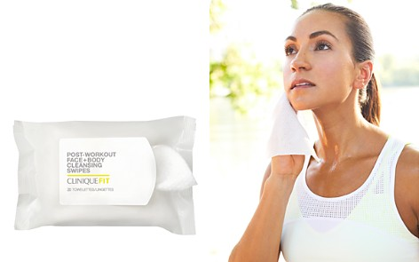 CliniqueFIT™ Post-Workout Face + Body Cleansing Swipes - Bloomingdale's_2