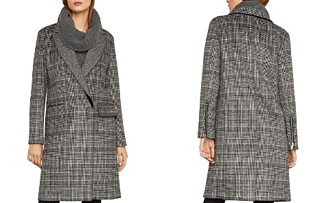 BCBGMAXAZRIA Valentina Glen Plaid Coat - Bloomingdale's_2