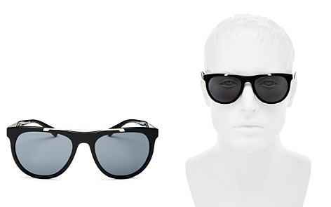 Versace Collection Men's Flat Top Square Sunglasses, 56mm - Bloomingdale's_2