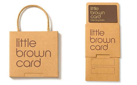 Only at Bloomingdale's Little Brown Gift Card_2
