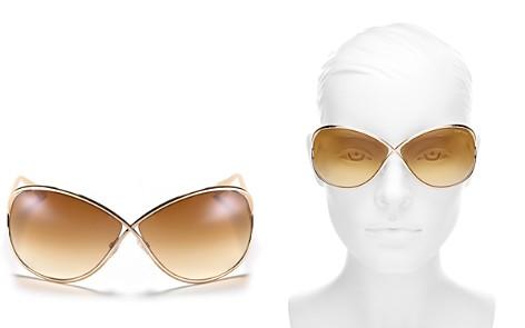 Tom Ford Miranda Oversized Round Sunglasses, 63mm - Bloomingdale's_2