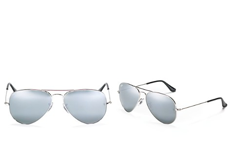 Ray-Ban Classic Mirrored Aviator Sunglasses, 58mm - Bloomingdale's_2