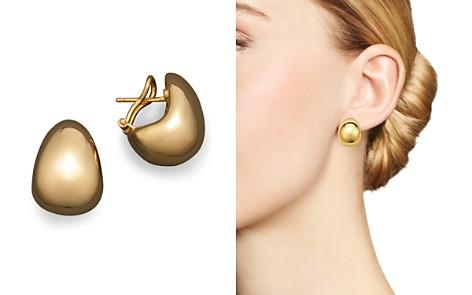 Roberto Coin 18K Yellow Gold Bold J Hoop Earrings - Bloomingdale's_2