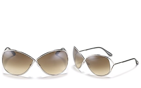 Tom Ford Miranda Crossover Sunglasses, 68mm - Bloomingdale's_2