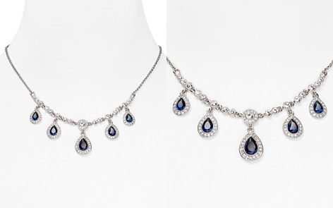 "Carolee Front Pear Drop Necklace, 16"" - Bloomingdale's_2"