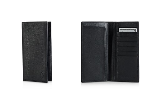 Polo Ralph Lauren Pebbled Leather Narrow Wallet - Bloomingdale's_2