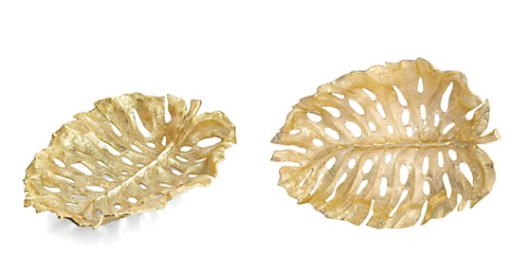 Michael Aram Monstera Leaf Gold Centerpiece - Bloomingdale's Registry_2
