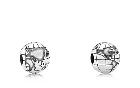 PANDORA Moments Collection Sterling Silver Globe Clip - Bloomingdale's_2