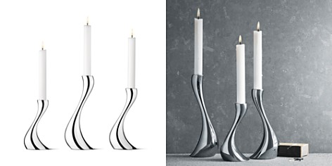Georg Jensen Cobra Candleholder, Set of 3 - Bloomingdale's_2