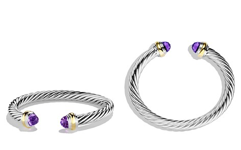 David Yurman Cable Classics Bracelet with Amethyst and Gold - Bloomingdale's_2