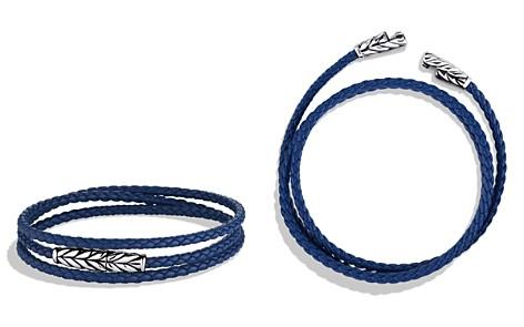 David Yurman Chevron Triple-Wrap Bracelet in Blue - Bloomingdale's_2