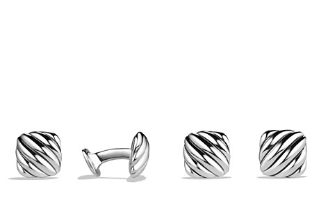David Yurman Cable Cushion Cufflinks - Bloomingdale's_2