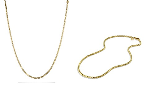 David Yurman Medium Box Chain in Gold - Bloomingdale's_2