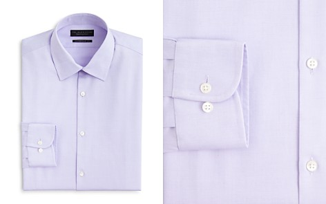 The Men's Store at Bloomingdale's Textured Solid Dress Shirt - Contemporary Fit - 100% Exclusive_2