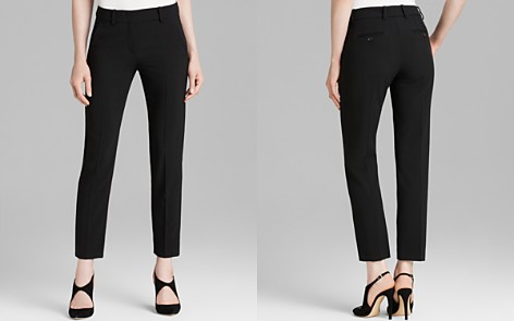 Armani Collezioni Trouser - Cropped Wool - Bloomingdale's_2