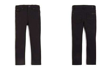 7 For All Mankind Girls' Black Skinny Jeans - Little Kid - Bloomingdale's_2