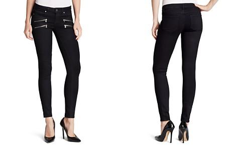 Paige Denim Jeans - Transcend Edgemont Ultra Skinny in Black Shadow - Bloomingdale's_2