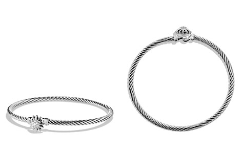 David Yurman Starburst Single-Station Cable Bracelet with Diamonds - Bloomingdale's_2