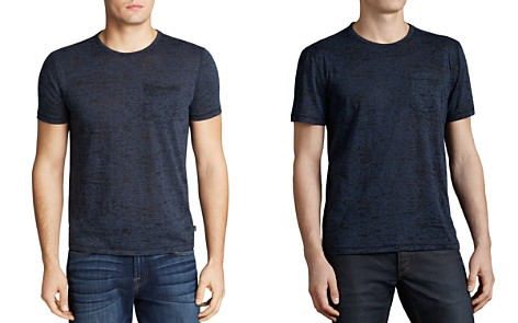 John Varvatos USA Short Sleeve Burnout Tee - Bloomingdale's_2