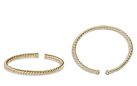 David Yurman Precious Cable Cablespira Bracelet in Gold - Bloomingdale's_2