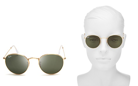 Ray-Ban Round Sunglasses, 50mm - Bloomingdale's_2